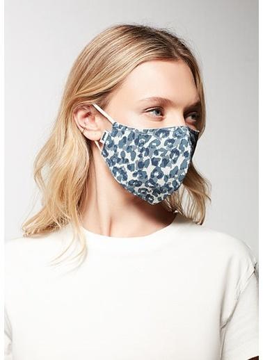 Mavi Unisex  Baskılı Maske 198061-18790 İndigo